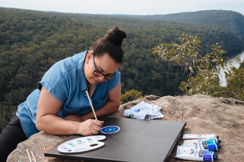 Specsavers Collaborate with Contemporary Aboriginal Artist Rheanna Lotter for NAIDOC Week Release