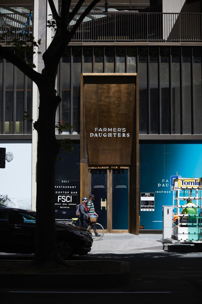 """Stunning Gippsland Inspired New Restaurant """"Farmers Daughters"""" Open's in Melbourne"""