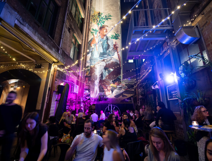 YCK Laneways, Exciting Night Over Light as part of Sydney Solstice