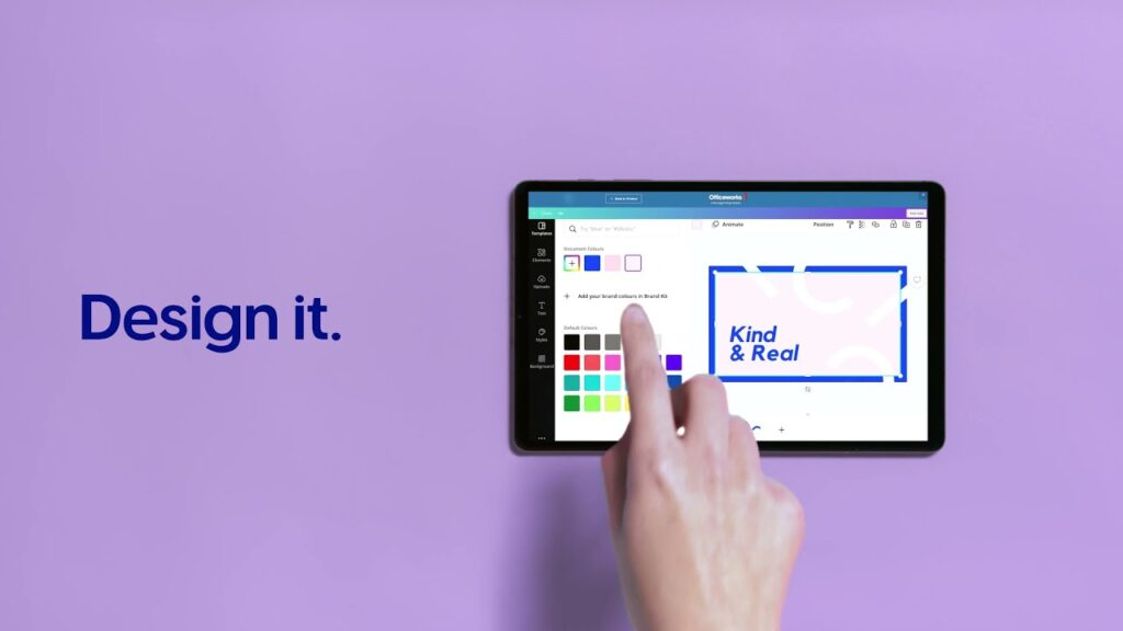 Canva & Officeworks Team Up for Epic Offering